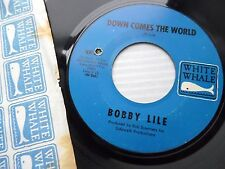 BOBBY LILE Down comes the world Time to be a woman 1968 pop PSYCH 45 e6588