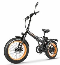 "SOHOO 48V500W12A 20""x4.0 Adult Folding Fat Tire Electric Bicycle Mountain Ebike"