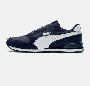 Puma Unisex ST Runner v2 NL Sneakers Trainers Nylon Peacoat Blue Brand NEW