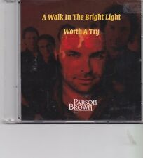 Parson Brown-A Walk In The Bright Light Promo cd single