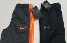 Nike Pants Boys Toddler Size 4 And Under Armour Black New W/Tags Msrp $58