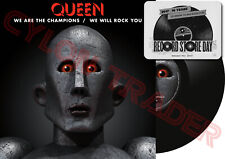 """QUEEN We Are The Champions & We Will Rock You / US 2017 Black Friday RSD 12"""" NEW"""