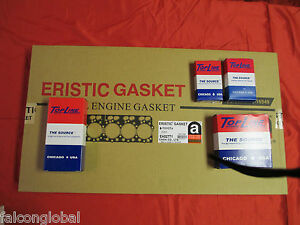 Mitsubishi Eclipse Spider 2.4L 4G64 Engine Rering Kit 1998 99 rings gaskets