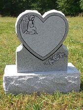 Heart Memorial Headstone Die & Base (2 options)