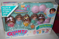 #2101 Vintage TYCO Rainy Day Quints with Magic Rosy Cheeks BAD BOX