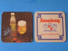 Beer Collectible Coaster <> Kronenbourg Brasserie Since 1664 ~*~ Obernai, France