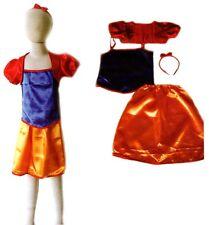 COSTUME ECO PRINCIPESSA BIANCANEVE BAMBINA 5-7 ANNI - Princess Costume