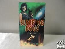 Sleeping Dogs VHS C. Thomas Howell, Scott McNeil, Ciara Hunter; Micheal Bafaro