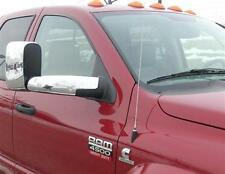 CHROME MIRROR COVER OVERLAY 2003-2009 Dodge Ram 2500/3500 with Tow PUTCO 400507