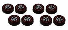 8 Brightvision Redline Wheels – 8 Large Bright Chrome Cap Style Wheels