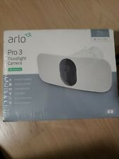Arlo Pro 3 Floodlight Indoor/Outdoor Security Camera - White Brand New
