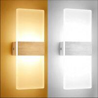 6/12W LED Wandleuchte Lampe Innen Wandspot Fassadenlampe Strahler UP-Down-Leucht