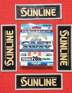 Sunline Cast away, 150m*20lb