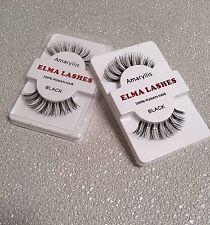 Wispie Thick Handmade Makeup Human Fake False Eyelashes Eye Lashes- UK Sale H