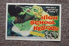 High School Hellcats Lobby Card Movie Poster