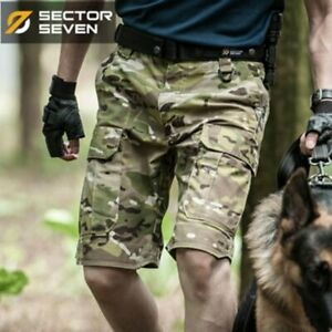 Summer Men Camouflage Tactical Shorts Cargo Casual Army Military Short Pants