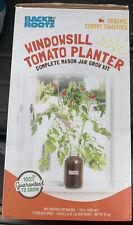 Windowsill Cherry Tomato Planter - Back To The Roots - Complete Mason Jar Kit