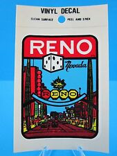 "VINTAGE....""RENO NEVADO""  STICKER / DECAL  (WOW... GREAT PRICE !)"