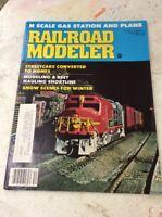 RAILROAD MODELER TRAIN VINTAGE MAGAZINE December 1978