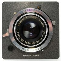 *Exc* Fuji Fujifilm FUJINAR W 15cm 150mm f/6.3 Large Format Lens Japan #623982
