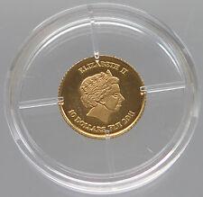 FIJI 10 DOLLARS 2011 GOLD PROOF   #z1 041