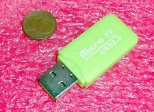 Micro SD Adapter USB2.0 card reader micro sd