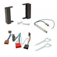 Audi TT Car CD Stereo Radio Single DIN Black Facia Fascia Adaptor Fitting Kit