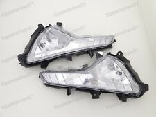 1Pair Clear Fog Lights Driving Lamps for Kia Sportage 2014-2015
