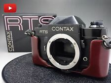 Contax RTS 35mm SLR Film Camera Body Only with Box Free Shipping! From Japan!