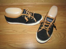 NWOB Sperry Top-Sider Black Wool Fashion Sneakers - 6 European 36.5