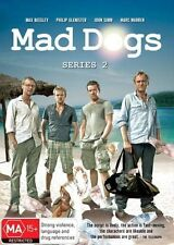 Mad Dogs : Series 1 & 2 (DVD, 2014, 2 disc set)
