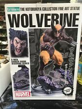 Kotobukiya X-Men Wolverine Brown Costume Danger Room Session Fine Art Statue