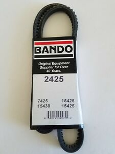 Bando Drive Belt Acura Legend 88-90 P.S Belt -Honda Accord 76-81 W.P. & Alt. 600