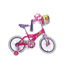 Dynacraft Kids Bike Bicycle 16 Inch Girls Training Wheels Riding Barbie Sweets