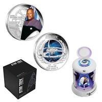 Star Trek Deep Space 9/Captain Benjamin Sisko 2015 1oz Silver Proof 2-Coin Set