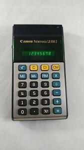 Vintage RARE CANON Palmtronic LD-8M 2 Retro Electronic Calculator