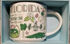 Starbucks FLORIDA Been There Series Collection 2018 14 Oz Cup Mug  Gift cards