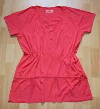 Shirt Tunika 44 46 TCM Tchibo Rosa Lagen Look Longtunika Kurzarm Neuwertig