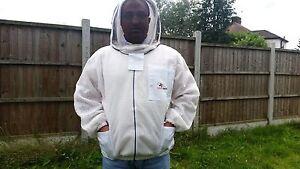 Ventilated beekeeping jacket beekeeper jacket Bee jacket fencing veil-SMALL