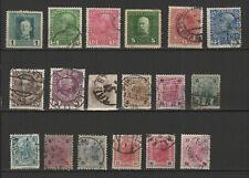 AUTRICHE 18 timbres oblitérés anciens / T2520