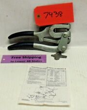 Roper Whitney #5 Jr. Hand Punch 130010050 Made in U.S.A. FREE SHIPPING!!