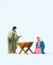 Preiser 29091 H0 Maria und Josef mit Krippe