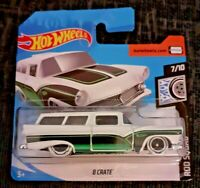 MATTEL Hot Wheels   8 CRATE   Brand New Sealed Box