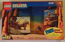Lego Wild West 6799 Showdown Canyon Playstage Gift Set (69pcs) MISP Sealed 1997