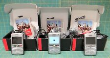 Lot (3) Verizon Blackberry 8830 World Edition Silver Smart Phones *Sold As Is*