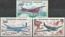 Timbres Avions Gabon PA52/4 ** lot 6663