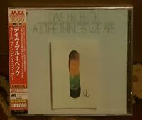 Dave Brubeck-All the Things We Are  (UK IMPORT)  CD NEW
