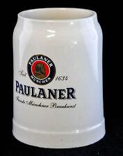 Paulaner Weissbier, Tonkrug, Steingut Seidel 0,5l.