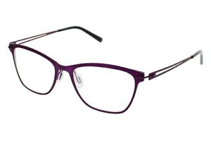 Aspire AMAZING Eyeglasses Berry Matte Size 53-16-140