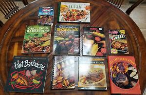Lot of 10 Grilling Cookbooks